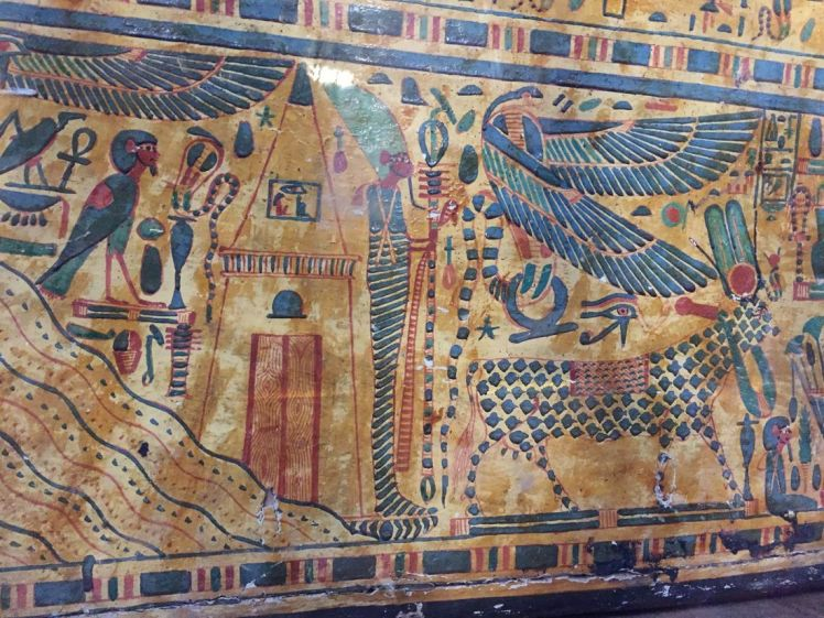 fresque-le-caire-musee-egyptien